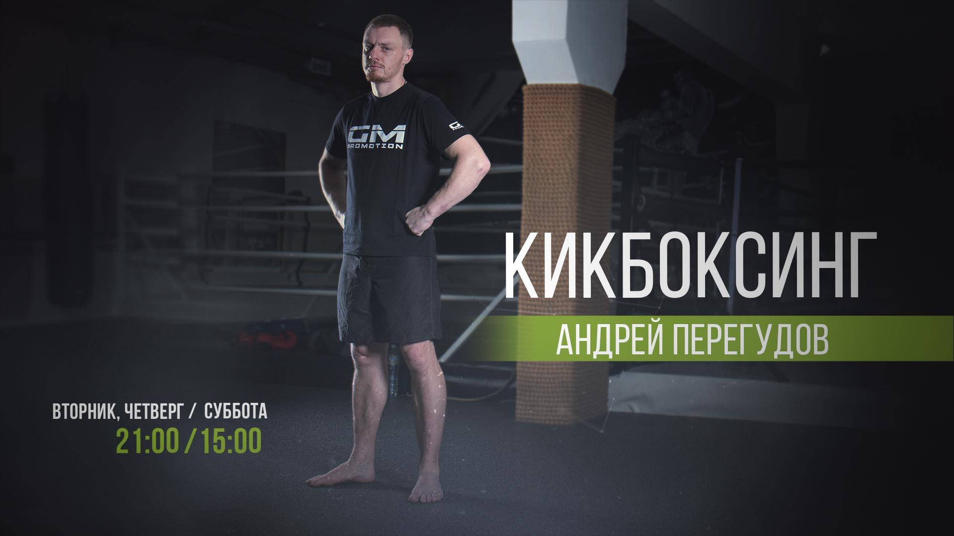"""Андрей Перегудов """"Тренер по кикбоксингу"""""""