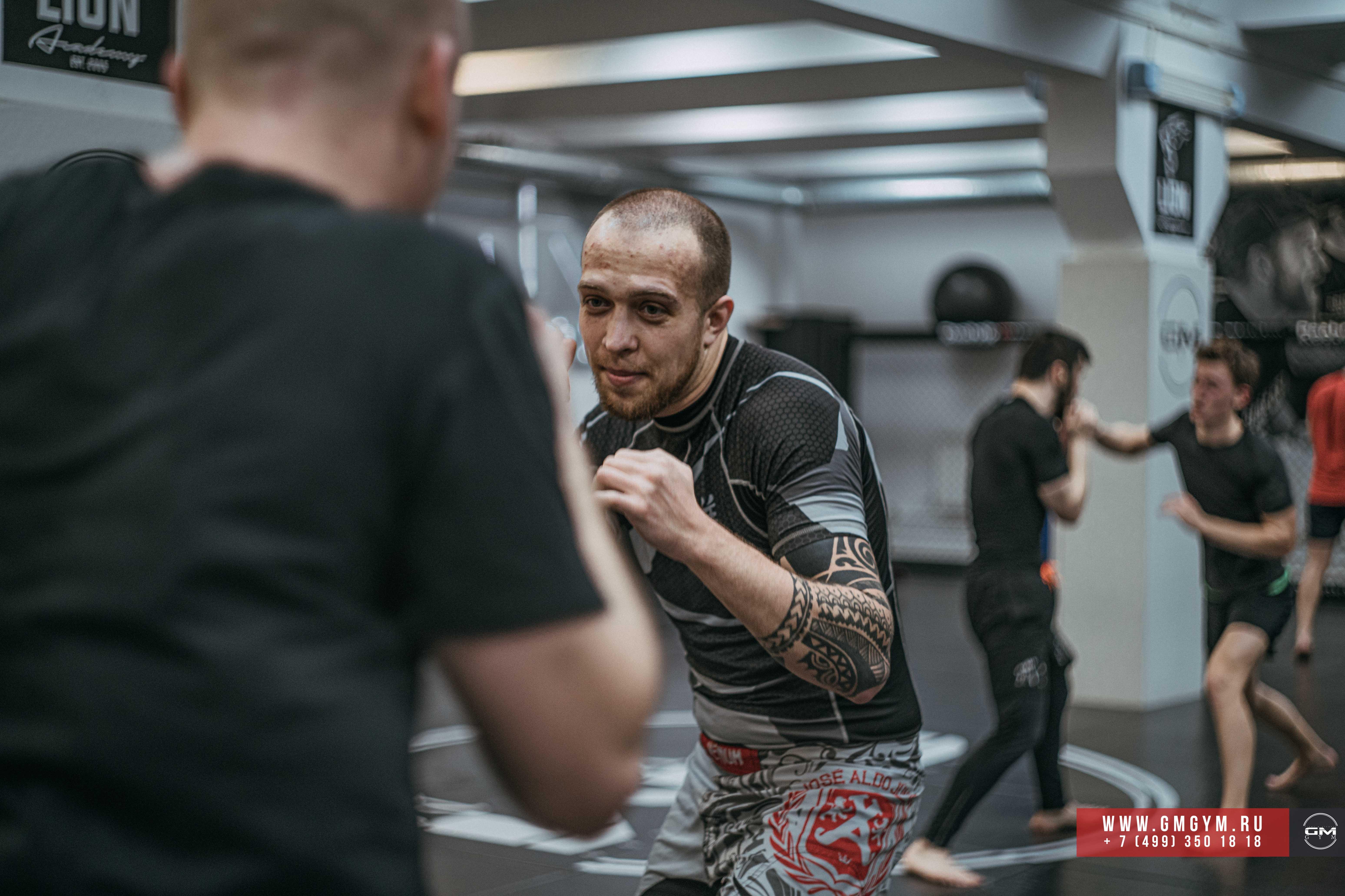 Виталий Слипенко тренер по ММА 4