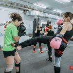 Женская группа Светланы Винниковой по тайскому боксу