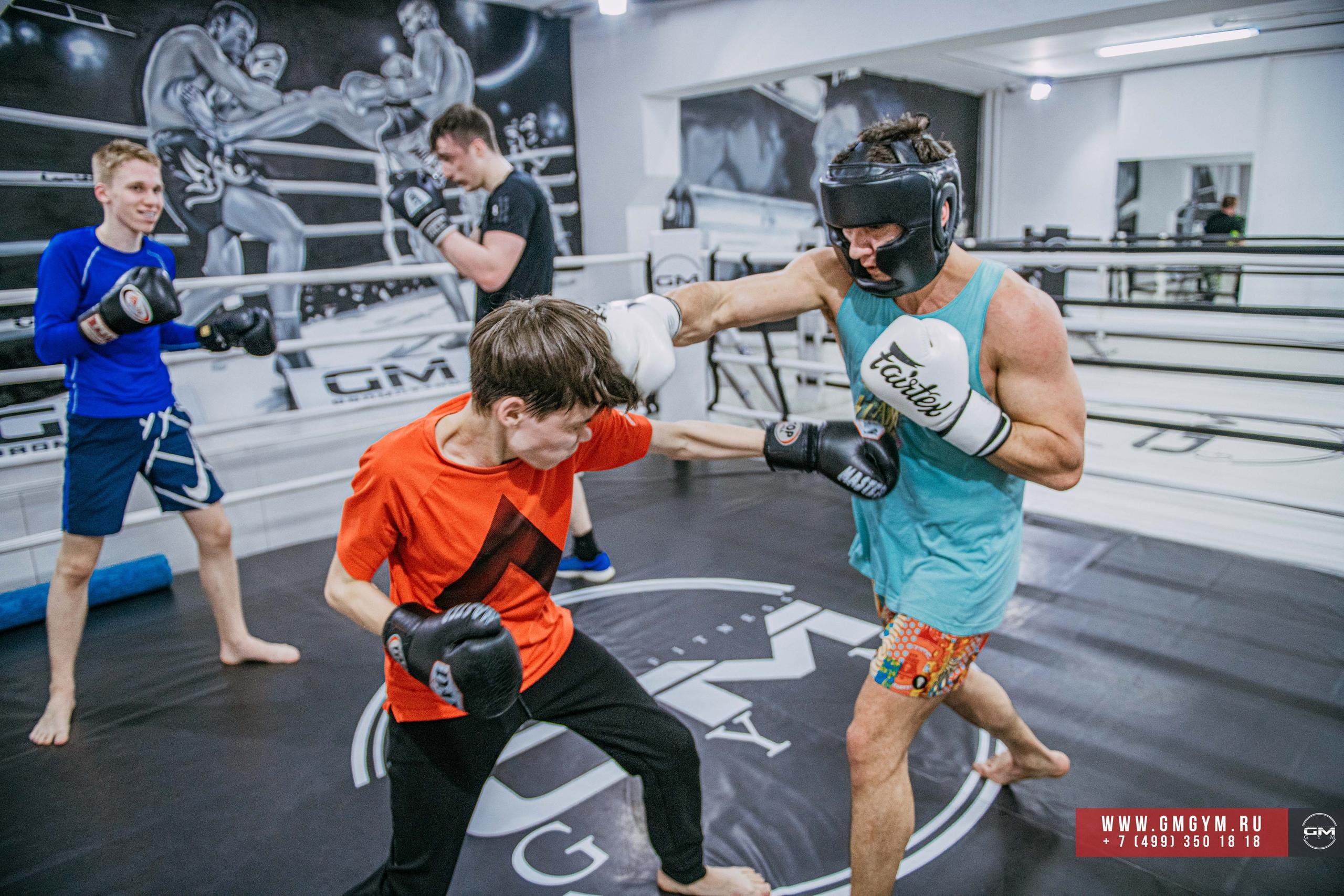 Тренеры по боксу GmGym клуб единоборств на Белорусской в Москве